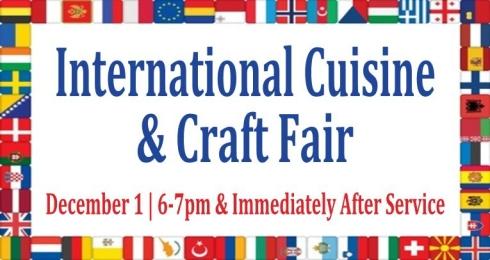 International Cuisine 2014 Ad