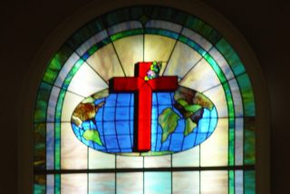 Whole Life Church Stained Glass Window